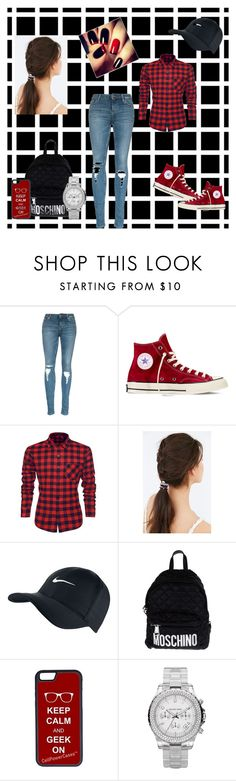 geek on by alfrun11 on Polyvore featuring interior, interiors, interior design, home, home decor, interior decorating, Converse, Moschino, Michael Kors and Urban Outfitters