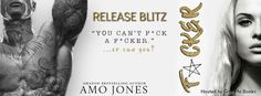 Twin Sisters Rockin' Book Reviews: Release Blitz: F*CKER by Amo Jones…