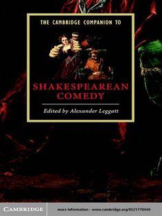 The Cambridge companion to shakespearean comedy / edited by Alexander Leggatt