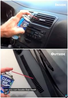 Clean Car Air Duct Car Cleaning Detailing Tips and Tricks