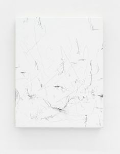 Struan Teague Untitled, 2016 pencil and gesso on canvas 50 x 40 cm Black And White Painting, Scribble, Painting & Drawing, Art Ideas, Abstract Art, Pencil, Notes, Artists, Contemporary