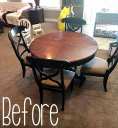 Learn how to revitalize your furniture using a graywash technique. Transform your home for just pennies - and have fun doing it. Try this easy-peasy method. Gray Wash Furniture, Distressed Furniture, Paint Furniture, Furniture Makeover, Home Furniture, Furniture Refinishing, Furniture Ideas, Dinning Chairs, Table And Chairs