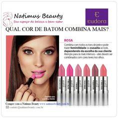 Dicas de beleza e maquiagem! Batom que cor combina mais?  #natimusbeauty www.natimusbeauty.com.br