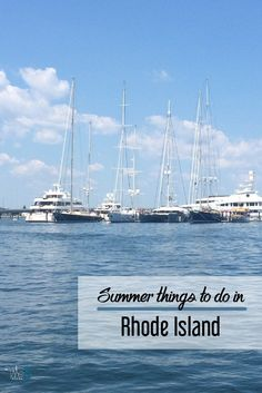Rhode Island in the summer | RI | What to do in Rhode Island | Little Rhody
