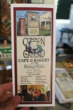 Common Ground Bakery - The Maple Sweet Potato Bread is truly heaven in your mouth......not healthy, but in heaven don't we get to eat what we want....
