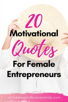 Grab the best 20 motivational quotes for female entrepreneurs! Get inspired for the new year! In thi Motivational Quotes For Women, Inspirational Quotes About Success, Success Quotes, Positive Quotes, Hustle Quotes, Career Quotes, Mindset Quotes, Positive Affirmations, Inspiring Quotes