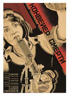 Smolyakovsky, film poster for <em>Konveier smerti</em> (1933) (© TASCHEN, Susan Pack, California)
