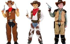 disfraces vaqueros niños - Buscar con Google