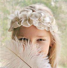 Tendencias 2016-2017: Accesorios de cabello para niñas - Flores de tela