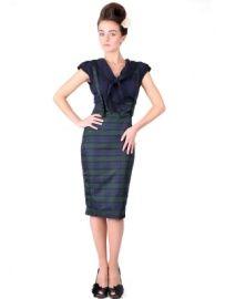 Collectif Agarva blackwatch check skirt | Rokken | Miss Vintage | Retro, vintage geïnspireerde dames kleding
