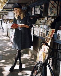 The Bouquinistes of Paris, France, are booksellers of used and antiquarian books who ply their trade along large sections of the banks of the Seine.