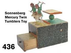 436: Sonnenberg Mercury Twin Tumblers Toy Tumblers, Mercury, Twins, Chinese, Toy, Mugs, Travel Mugs, Game, Gemini