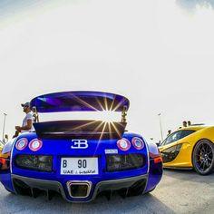 Sunny Bugatti Veyron