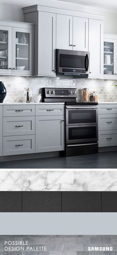 #LGLimitlessDesign & #Contest What does your dream home look like? Marble countertops, neutral backsplash, dark trim? Whatever your ideal combination, the Black Stainless Steel of the Flex Duo Range is sure to make your kitchen pop. Try out different color combinations with our design tool.