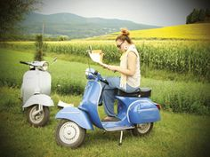 Idea per il week-end: giro in vespa vintage - #Toscana #vespa #vintage