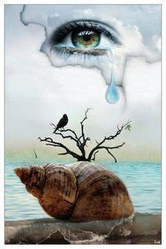 Larmes , tristesse , dureté - Photo 3