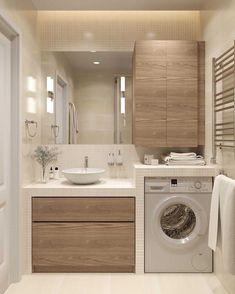 Awesome Farmhouse Bathroom Vanity Remodel Ideas – Best Home Decorating Ideas Bathroom Design Small, Bathroom Interior Design, Modern Bathroom, Beige Bathroom, Bathroom Designs, Small Bathroom Ideas, Light Bathroom, Modern Shower, Minimalist Bathroom