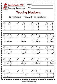 Numbers 1-50 Tracing Worksheets – Worksheets PDF Shape Worksheets For Preschool, Writing Practice Worksheets, Numbers Preschool, Kindergarten Math Worksheets, Preschool Math, Math Activities, 1st Grade Worksheets, Alphabet Tracing Worksheets, Alphabet Writing
