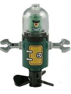 plankton  domed  helmet  LEGO  heroic  heroes  set  3815