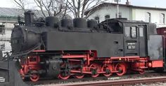 REI Tour Riding A Steam Train From Radeburg to Radebeul Germany