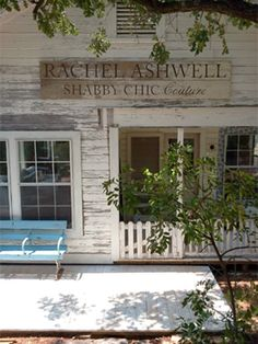 Rachel Ashwell in Round Top TX  I hope to visit one day...