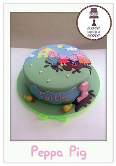 Peppa pig - Cake by Emma