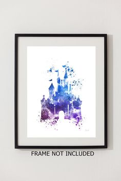 Cinderella Castle ART PRINT 4th Edition illustration by SubjectArt