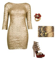 Fashion Statements Made of Gold and Glitter