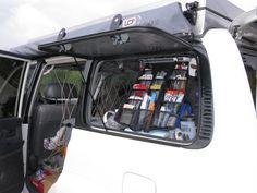 Landcruiser 80 Series flip up rear windows