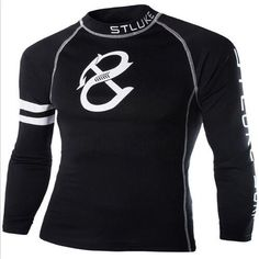 Fitness Bodybuilding Training Long Sleeve Compression Shirts