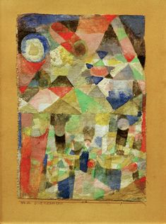 Paul Klee 'Schiffsternenfest'(Ship Star Party [my own translation g.s.])  1916