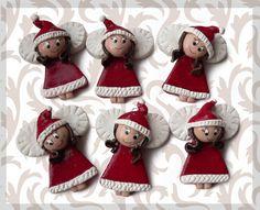 masa solna serce - Szukaj w Google Xmas Crafts, Decor Crafts, Diy Crafts, Polymer Clay Ornaments, Polymer Clay Art, Christmas Decorations, Christmas Ornaments, Holiday Decor, Christmas Ideas