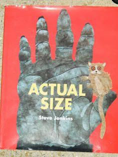 'Actual Size' Measurement activity. Read the story. Give students one animal from the book and have them draw lines with sidewalk chalk to represent the actual length of the animal. Fun, interactive, & ESOL component