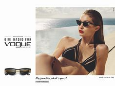 1edd95649 Gigi Hadid Models the Hottest Frames for Vogue Eyewear Campaign