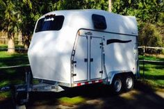JUST REDUCED:   Like NEW 2011 Brenderup Baron L-TC 2 Horse Trailer.  I have barely used it and my big warmbloods have loved travelling in it.  This trailer is an excellent horse trailer for the first time trailer owner.