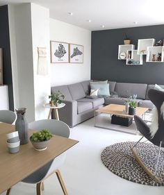 Fajny pomysł na półkę nad kanapą - Web Technology Home Living Room, Apartment Living, Interior Design Living Room, Living Room Designs, Living Room Decor, Bedroom Decor, Decor Room, Wall Decor, Above Couch