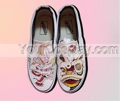 Custom Unique Hand Print Universal Canvas Shoes New Arrival Hand Drawing Shoes, Cosplay Hand Drawing Shoes Painted Canvas Shoes, Hand Painted Shoes, How To Draw Hands, Vans, Loafers, Cosplay, Drawing, Unique, Sneakers