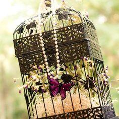 Bird Cage Decor. I love bird cages