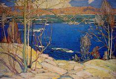 Tom Thomson (1877-1917): Spring Ice, 1916.