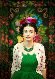 frida kahlo inspired outfit plus size - Google Search