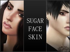 Faceskin, works with maxis shades and all makeup.  Found in TSR Category 'Sims 4 Skintones'