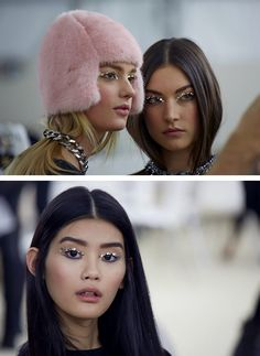 chanel eyes and the greatest fur hat