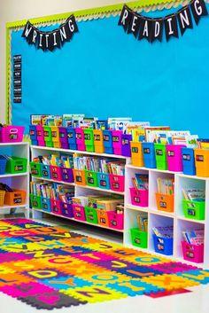 Beautiful Classroom Library!