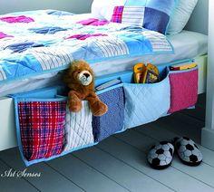 Направи си органайзър с джобове за легло