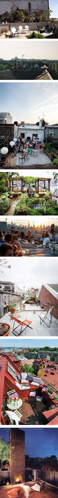 8 rooftops you should be chilling on right now via Nuji.com