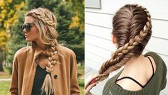 Imagenes de peinados con trenzas ✿ ❁ para todos los estilos de cabello ❁ ✿ y con muchas variantes distintas, no dejes de ver esta genial galería.