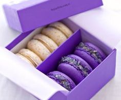 Purple Macaroons