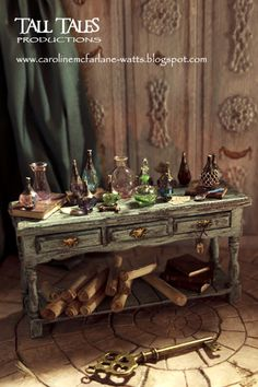 Caroline McFarlane-Watts: Come inside my Potion Room