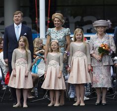Princess Catharina-Amalia and Queen Maxima Photos - The Netherlands Celebrate Kingsday In Amsterdam - Zimbio