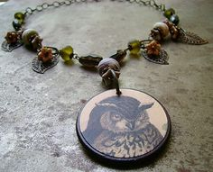 Humblebeads-Owl neckless